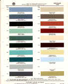 american motors paint chips colors samples