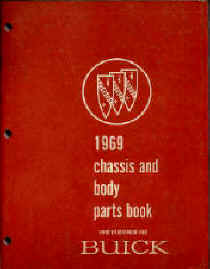 buick parts book numbers interchange