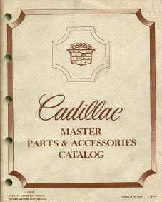 cadillac parts book number interchange