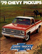 chevy truck dealer sales brochure