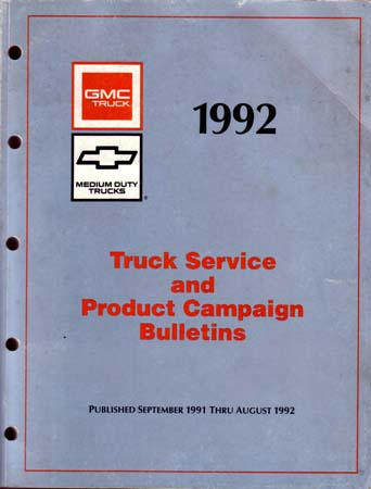 chevy truck service bulletins updates revisions