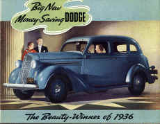dodge car dealer sales brochure