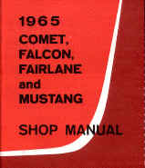 ford car shop service repair manual