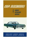 1965 OLDSMOBILE 98, 88, STARFIRE & JETFIRE Owners Manual