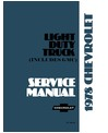 1978 CHEVROLET & GMC C/K 10-35 LIGHT DUTY, G & P SERIES Body, Chassis & Electrical Service Manual