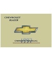 1997 CHEVROLET BLAZER Owners Manual [eb11630NN]