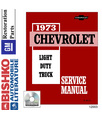 1973 CHEVROLET TRUCK Body, Chassis & Electrical Service Manual CD