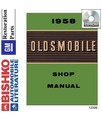1958 OLDSMOBILE Body, Chassis & Electrical Service Manual CD [eb12399N]