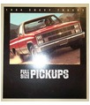 1984 CHEVROLET PICKUP TRUCK Sales Brochure