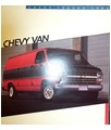 1986 CHEVROLET VAN Sales Brochure