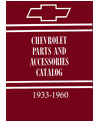 1933-60 CHEVROLET CAR & TRUCK Body & Chassis, Text & Illustration Parts Book