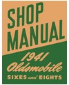 1941 OLDSMOBILE Full Line Chassis & Electrical Service Manual