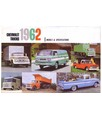 1962 CHEVROLET TRUCK Full Line Sales Folder