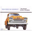 1958 CHEVROLET 4-WHEEL DRIVE TRUCK Sales Brochure