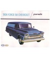 1958 CHEVROLET PANEL TRUCK Sales Brochure