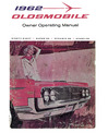 1962 OLDSMOBILE 98, DELTA 88 & STARFIRE Owners Manual
