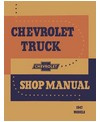 1947 CHEVROLET TRUCK Full Line Body, Chassis & Electrical Service Manual