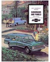 1967 CHEVROLET SUBURBAN & PANEL TRUCK Sales Brochure