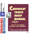 1948-53 CHEVROLET TRUCK Full Line Body, Chassis & Electrical Service Manual CD