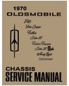 1970 OLDSMOBILE Full Line Chassis & Electrical Service Manual