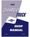 1958 CHEVROLET TRUCK Full Line Body, Chassis & Electrical Service Manual