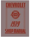 1939 CHEVROLET CAR & TRUCK Full Line Chassis & Electrical Service Manual