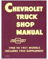 1948-53 CHEVROLET TRUCK Full Line Body, Chassis & Electrical Service Manual