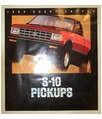 1984 CHEVROLET S-10 PICKUP TRUCK Sales Brochure