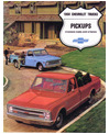 1968 CHEVROLET CHASSIS-CABS & STAKES Sales Brochure