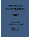 1942-48 CHEVROLET CAR, 1942-46 TRUCK Full Line Chassis & Electrical Service Manual