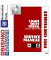 1981 CHEVROLET & GMC C/K 10-35 LIGHT DUTY, G & P SERIES & EL CAMINO Body, Chassis & Electrical Service Manual CD
