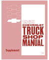 1965 CHEVROLET TRUCK Full Line Body, Chassis & Electrical Service Manual Supplement