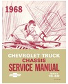 1968 CHEVROLET C/K 10-60 LIGHT & MEDIUM DUTY TRUCK Body, Chassis & Electrical Service Manual