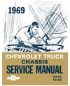 1969 CHEVROLET C/K 10-60 LIGHT & MEDIUM DUTY TRUCK Body, Chassis & Electrical Service Manual