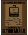1973 OLDSMOBILE Full Line Chassis & Electrical Service Manual