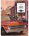 1967 CHEVROLET PICKUP TRUCK Sales Brochure