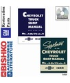 1955-56 CHEVROLET TRUCK Full Line Body, Chassis & Electrical Service Manual CD