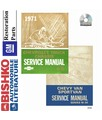 1971 CHEVROLET & GMC C/K 10-35 LIGHT DUTY & VAN Body, Chassis & Electrical Service Manual CD