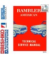 1961 AMC AMERICAN & RAMBLER Body, Chassis & Electrical Service Manual CD