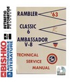 1963 AMC AMBASSADOR & CLASSIC Body, Chassis & Electrical Service Manual CD