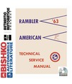 1963 AMC AMERICAN & RAMBLER Body, Chassis & Electrical Service Manual CD
