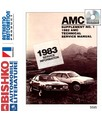 1982-83 AMC Full Line Body, Chassis & Electrical Service Manual CD