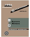 1996 BUICK RIVIERA & OLDSMOBILE AURORA Body, Chassis & Electrical Service Manual