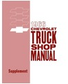 1966 CHEVROLET TRUCK Full Line Body, Chassis & Electrical Service Manual Supplement