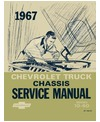1967 CHEVROLET C/K 10-60 LIGHT & MEDIUM DUTY TRUCK Body, Chassis & Electrical Service Manual