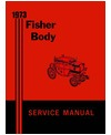 1973 BUICK, CADILLAC, CHEVROLET, OLDSMOBILE & PONTIAC Body Only Service Manual