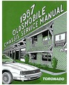 1987 OLDSMOBILE TORONADO Chassis & Electrical Service Manual