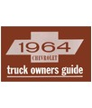 1964 CHEVROLET TRUCK Owners Manual