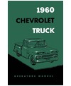 1960 CHEVROLET TRUCK Owners Manual