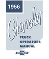 1956 CHEVROLET TRUCK Owners Manual